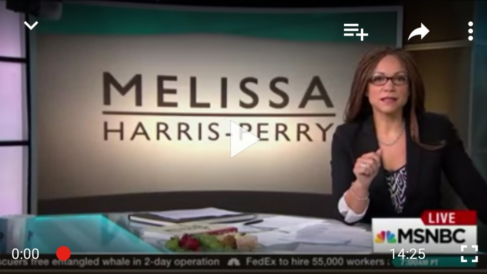 Melissa Harris-Perry upset with MSNBC, boycotts her own show
