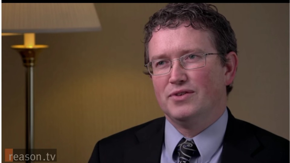 Rep. Thomas Massie says he won't endorse anyone, voting for Rand in Kentucky