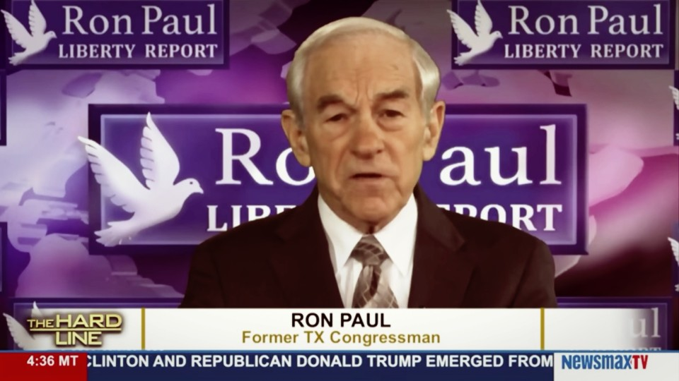 Ron Paul: I use Political Parties as a vehicle to get ideas out, convince people
