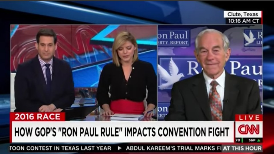 "Ron Paul: GOP getting what it deserves for instituting ""Ron Paul rule"""