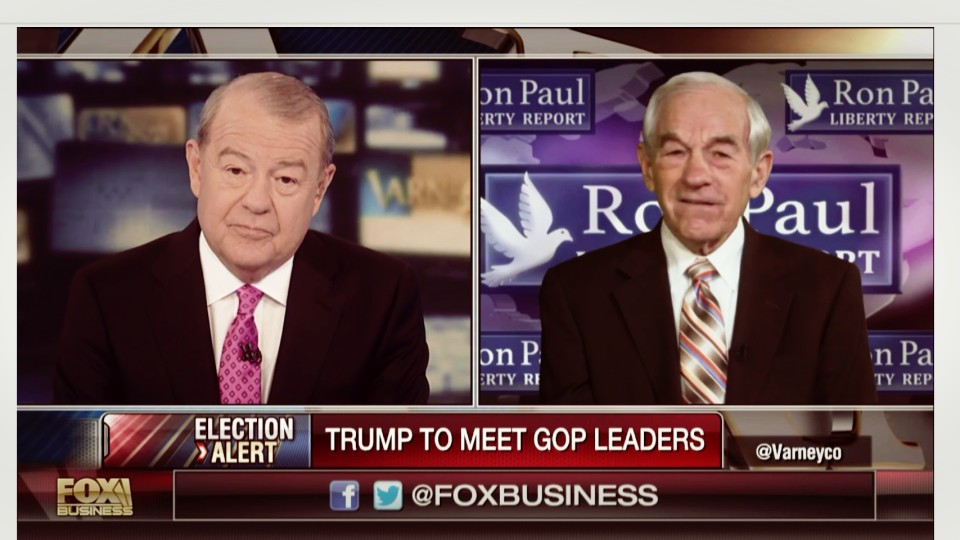 Ron Paul: I Don't Believe Trump is an Outsider
