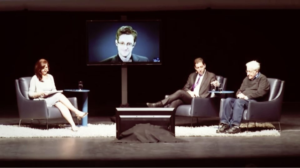 Edward Snowden, Glenn Greenwald & Noam Chomsky – A Conversation on Privacy