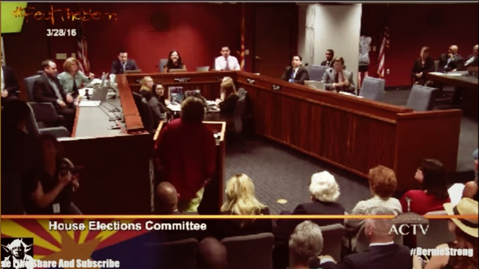 All Hell Is Breaking Loose at Arizona Election Fraud Hearing