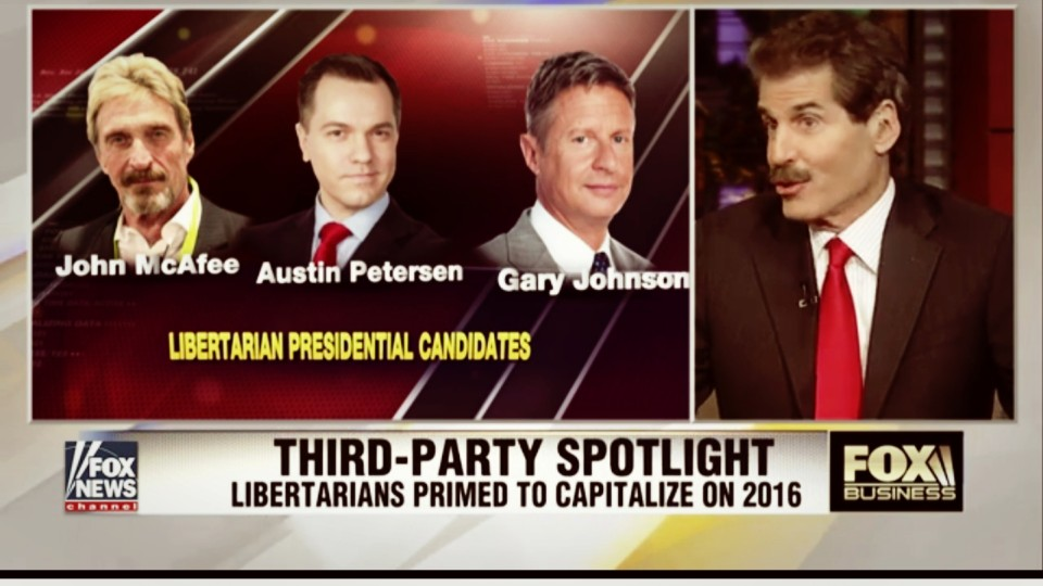 Is a Libertarian Candidate Just a Spoiler in the Race?
