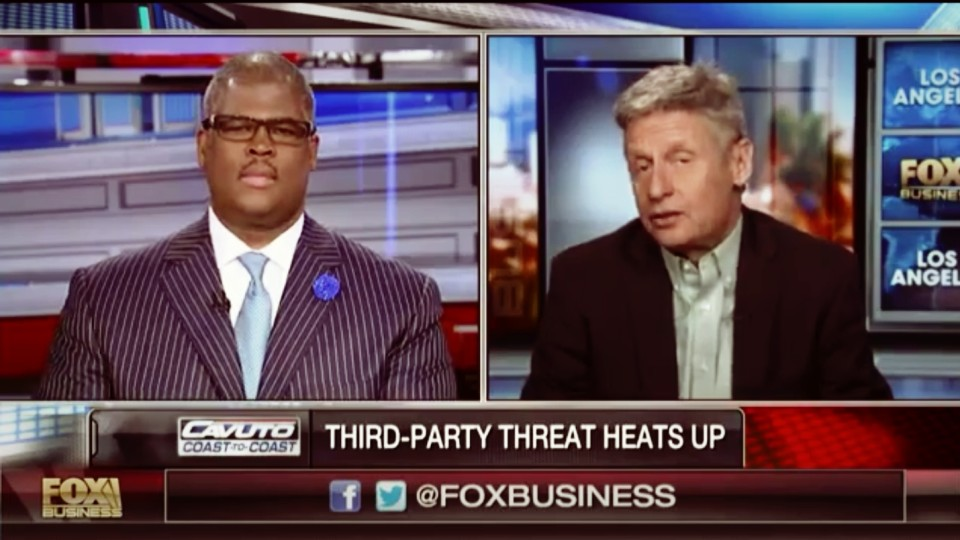 Gary Johnson: Most People in this Country are Libertarian but just don't know it yet