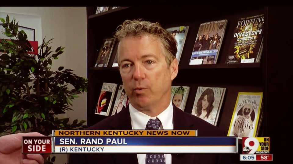 Rand Paul Holds Town Hall in Northern Kentucky