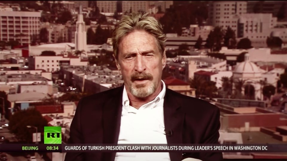 McAfee: 'Makes no sense for them not to be able to break into an iphone if I can do it'
