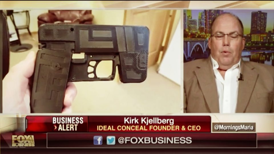 Is owning a gun that looks like a SMART PHONE really a smart thing to do?