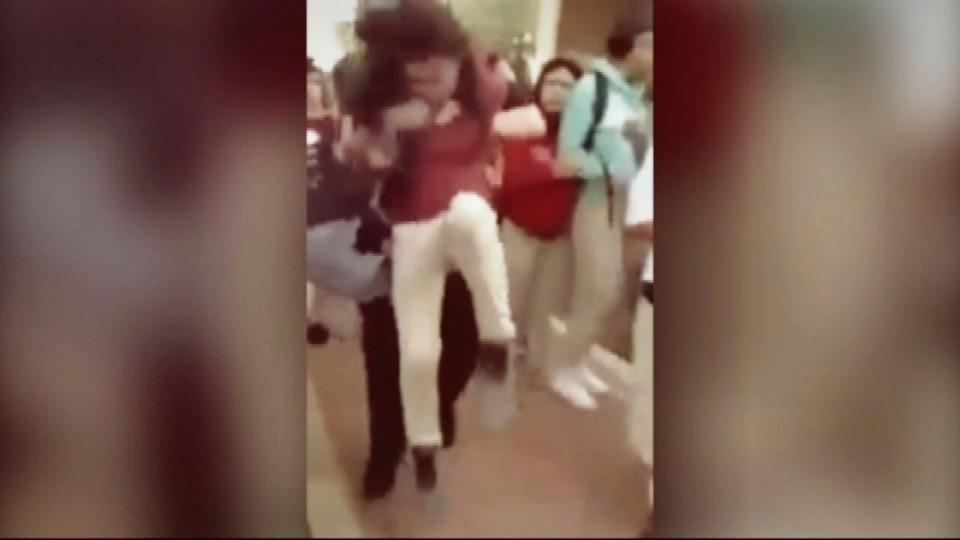 Police Officer Body Slams 12-Year-Old Middle School Girl On Concrete Floor