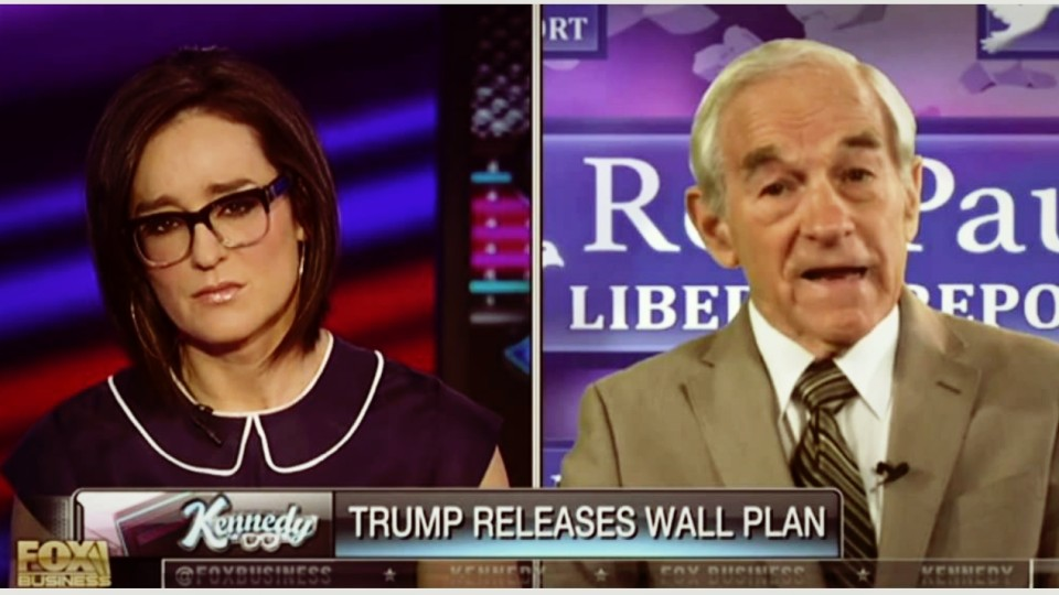 Ron Paul: 'Trump's Plan for the Wall sounds like Theft'