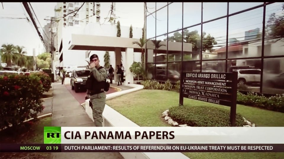 CIA Middlemen used Panama Papers Firms to Hide Activity