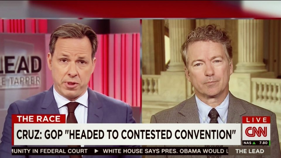 Rand Paul Discusses Republican Convention and Economic Freedom Zones