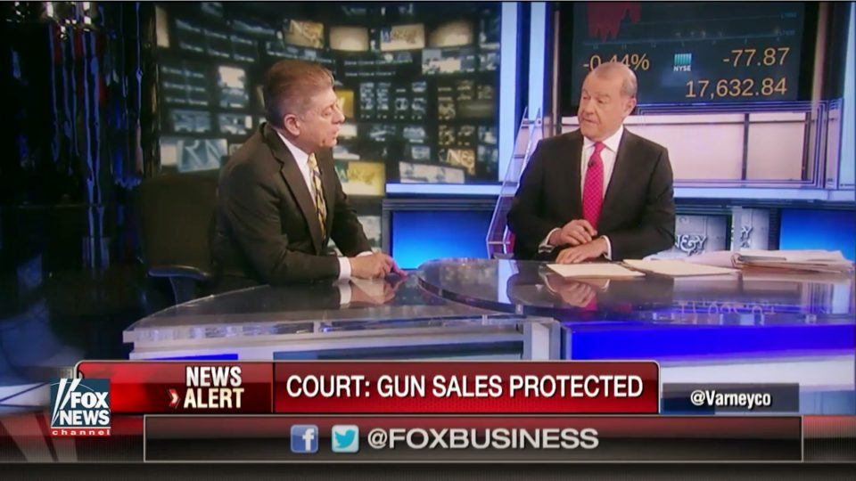 Judge Nap 'Shocked' by 'Most Liberal' Circuit Court's Huge Pro-Gun Ruling