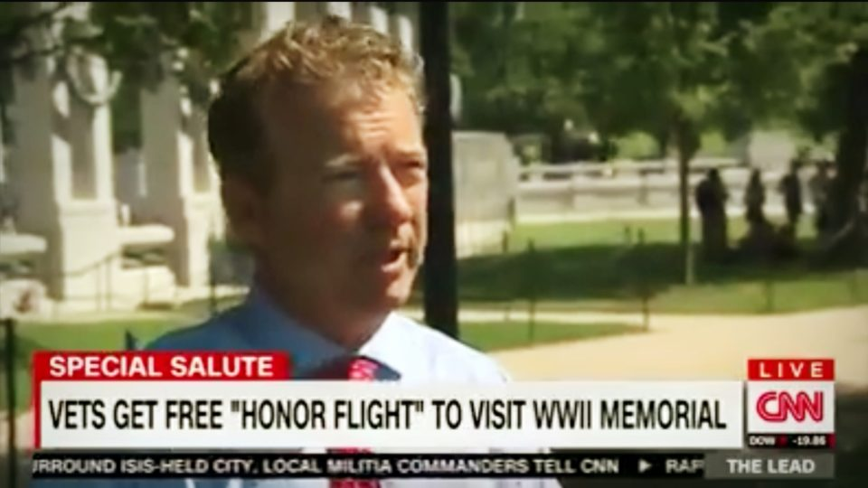 Rand Paul meets with Kentucky Vets in DC