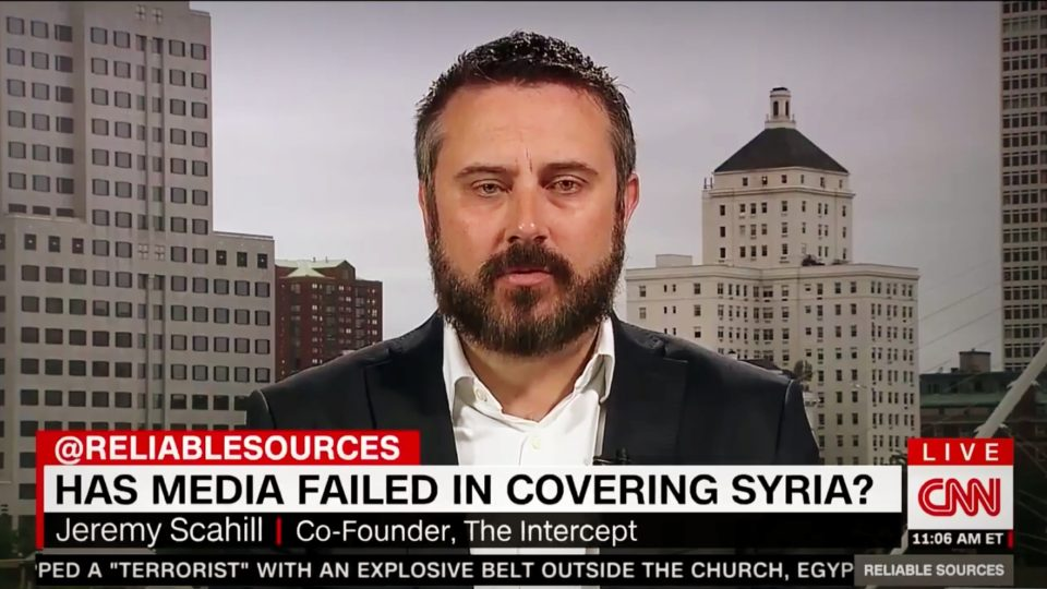 Jeremy Scahill Slams Zakaria, Brian Williams, and The Media on Syria Coverage