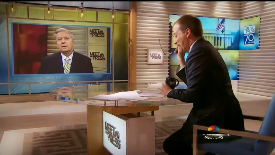 "Sen Lindsey Graham on 'Meet The Press' | Assad Is Telling Trump ""F*** YOU"""