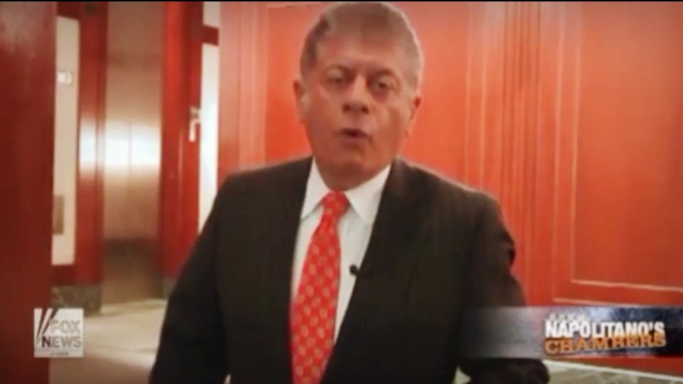 Judge Napolitano's Chambers   Susan Rice & Spying – What's Going On?