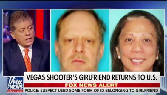 Judge Napolitano | Vegas Gunman's Girlfriend Faces Questioning