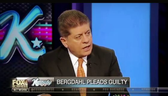 Napolitano | Bergdahl Guilty Plea Was A Deal w/ Obama To Keep Him Off The Witness Stand