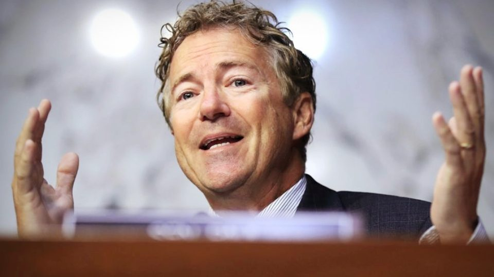 Rand Paul Slams Government Backed Research