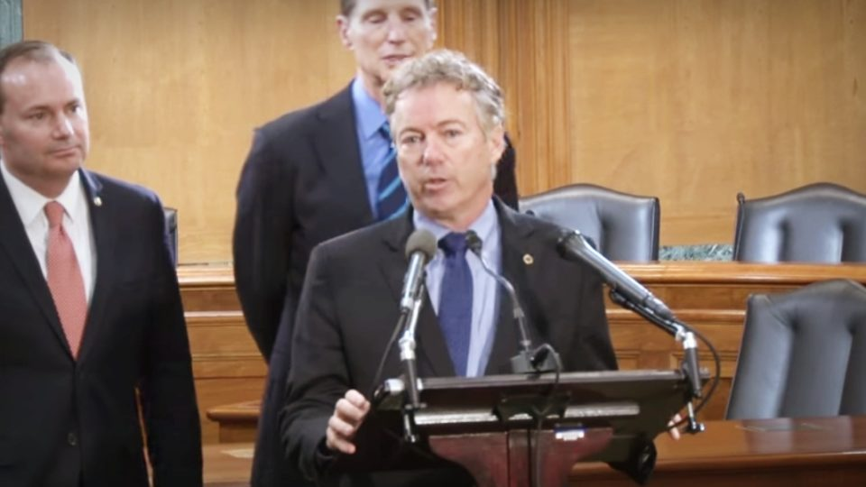 Sens. Rand Paul and Wyden Lead Bipartisan Call for FISA Reform 12/19/2017