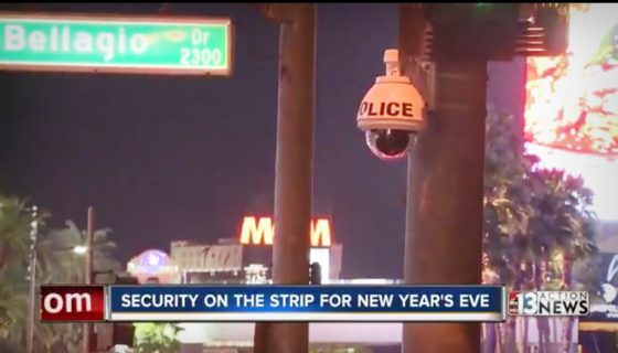 More cops than ever on Strip during NYE