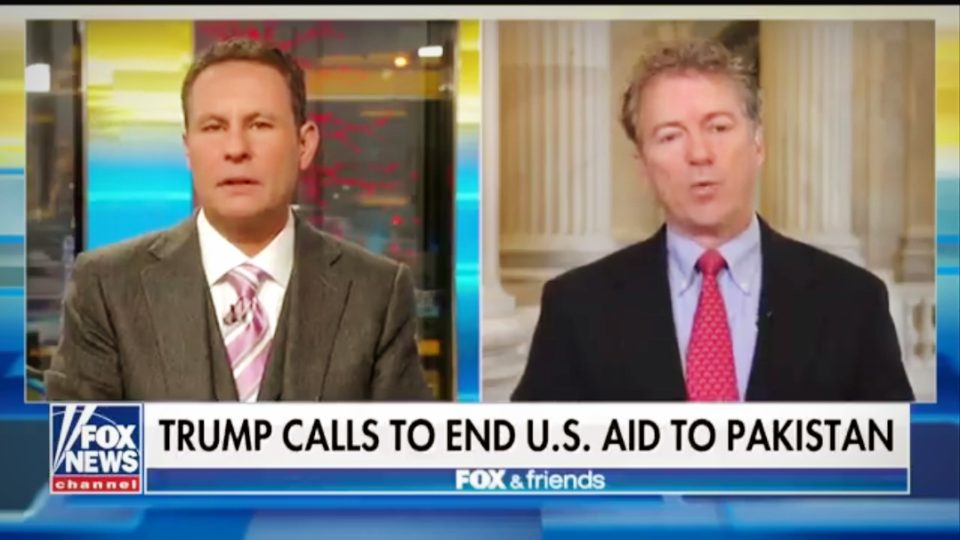 Rand Paul | No Aid For Nations Burning Our Flag