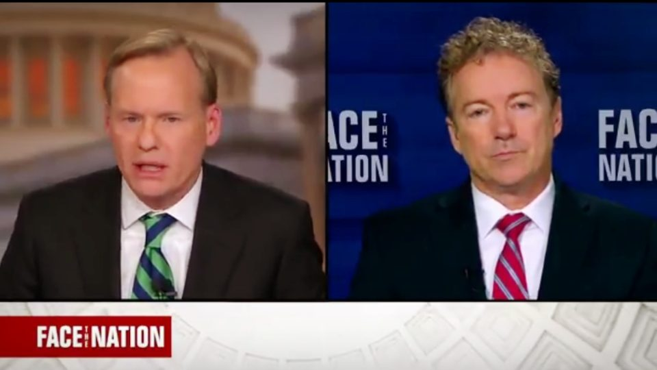 Sen. Rand Paul Full Interview on 'Face The Nation' 01/07