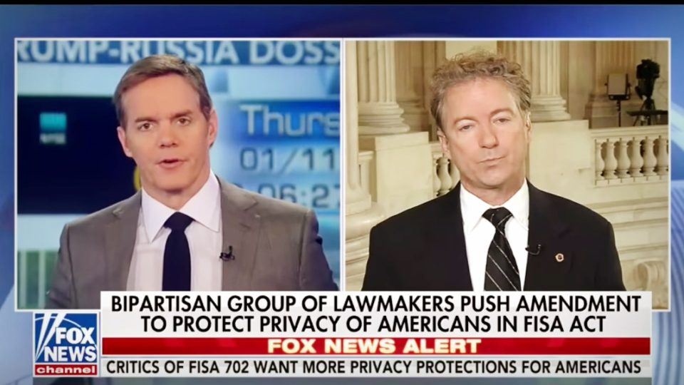 Rand Paul   House To Vote On FISA Act