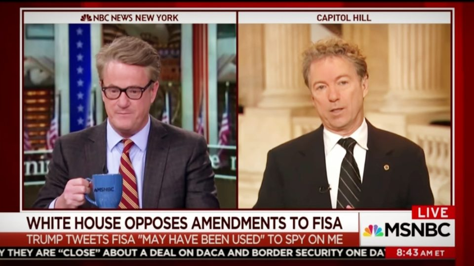 'Morning Joe'   Rand Paul on the Need for FISA Reform