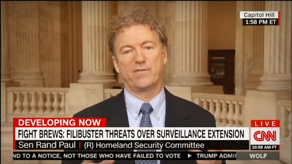 Rand Paul on 'The Situation Room' w/ Wolf Blitzer