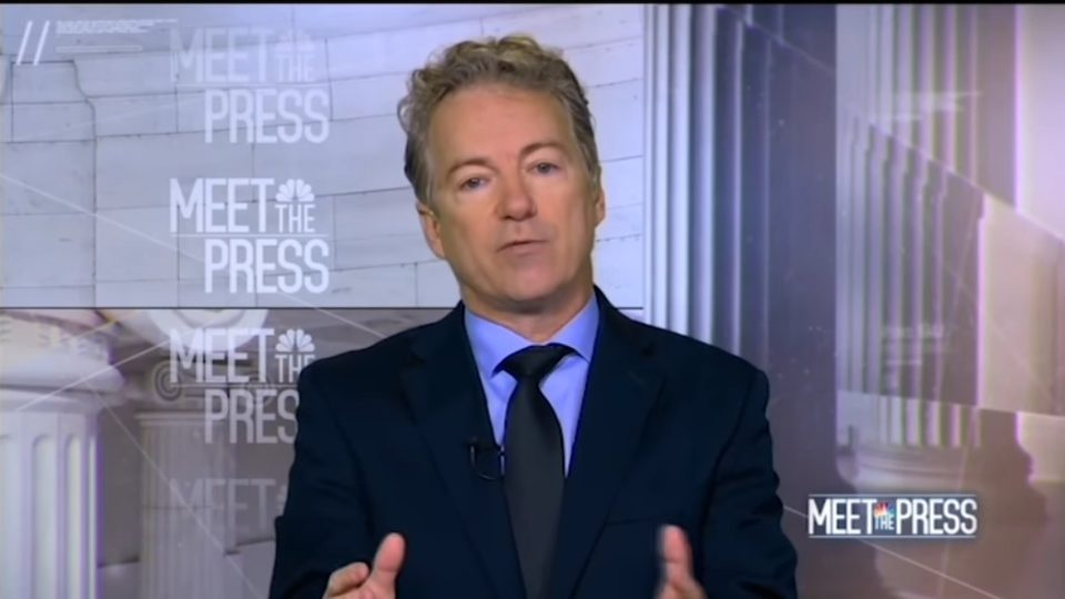 "Rand Paul on ""Shithole"" Remark From President Trump"