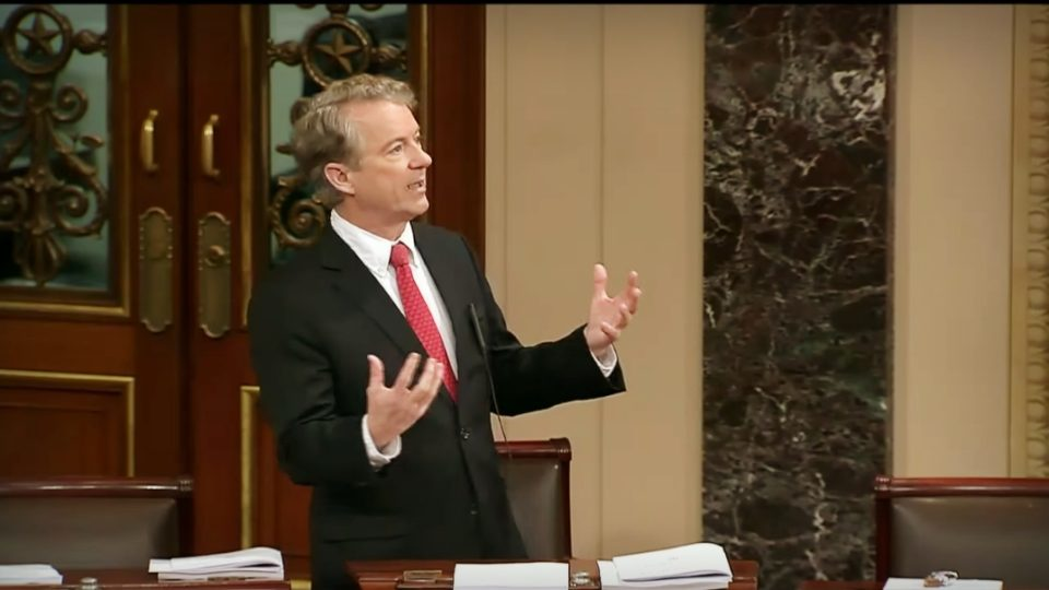 Sen. Rand Paul Continues Opposition to Spending Deal – Feb. 8, 2018