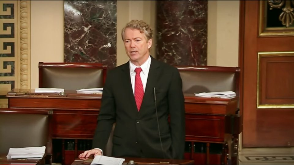 Sen. Rand Paul: The Way Congress Does Its Budgeting & Spending is Abominable – Feb. 2, 2018