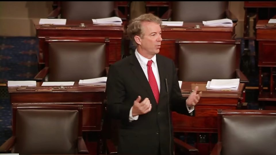 Dr. Rand Paul Holds Both Parties Accountable for Deserting Fiscal Responsibility – Feb. 9, 2018