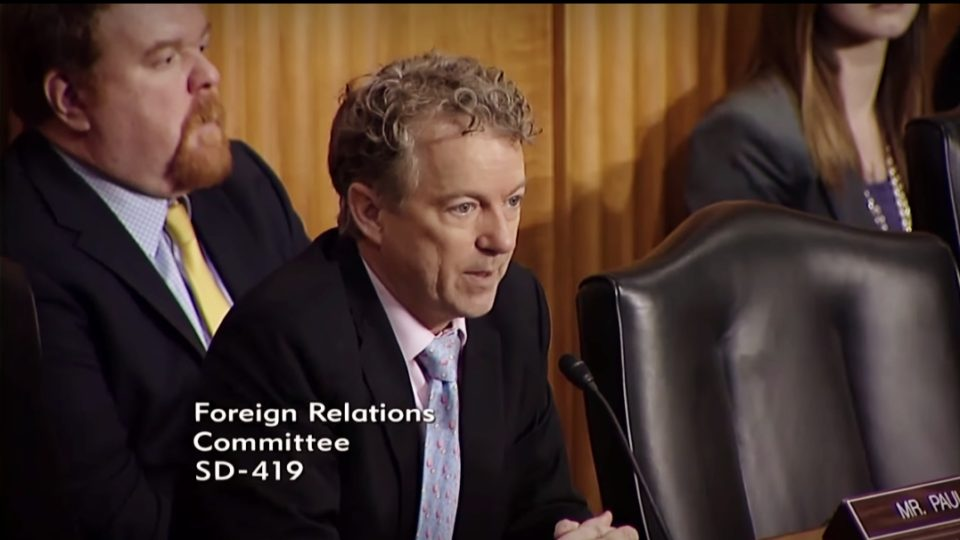 Sen. Rand Paul at Senate Foreign Relations Committee Hearing on Afghanistan – Feb. 6, 2018