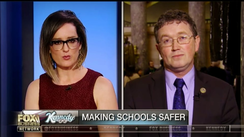 Rep Thomas Massie Proposes Bill That Would Allow Teachers To Arm Themselves