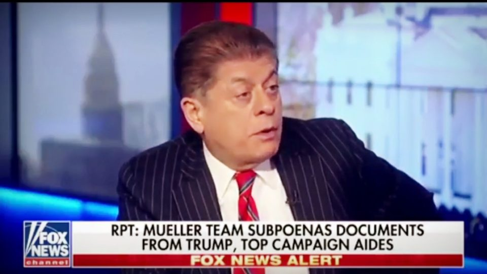 Judge Napolitano | Rick Gates Is Likely Providing a 'Treasure Trove' of Info to Mueller