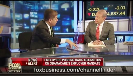Judge Napolitano | Employers Pushing Back Against IRS Over Obamacare Employer Mandate