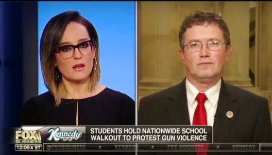 Thomas Massie Talks About Student Walkouts And The 'STOP ACT'