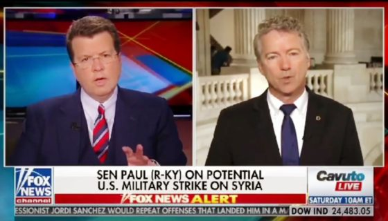 Rand Paul on Potential U.S. Military Strike on Syria