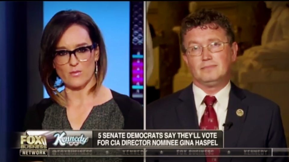 Thomas Massie on 'Kennedy' To Discuss Gina Haspel's Nomination For CIA Director