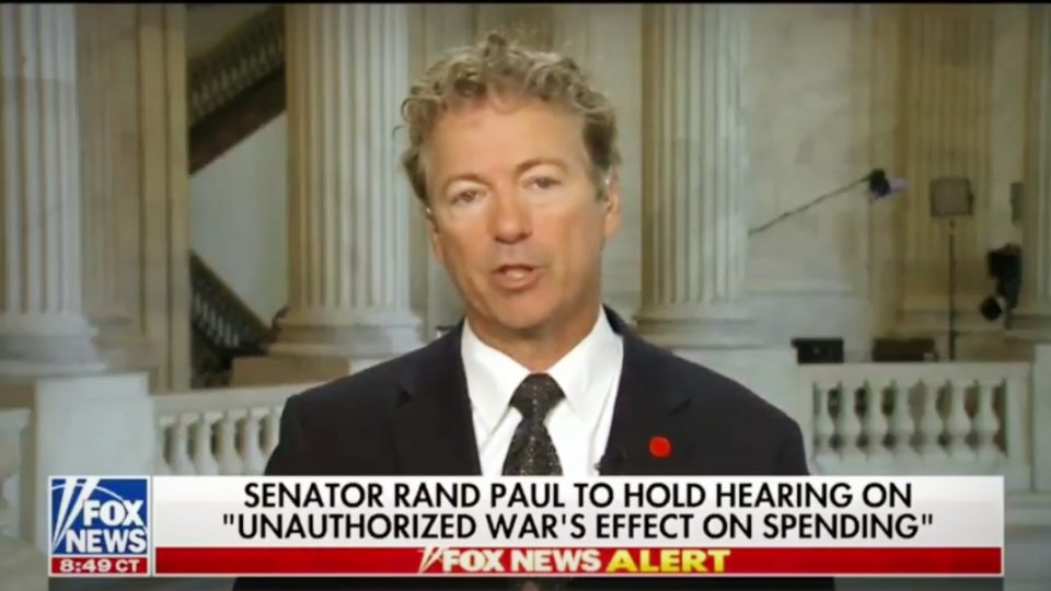 Sen. Rand Paul Discusses His AUMF Hearing, Bill Clinton, & North Korea