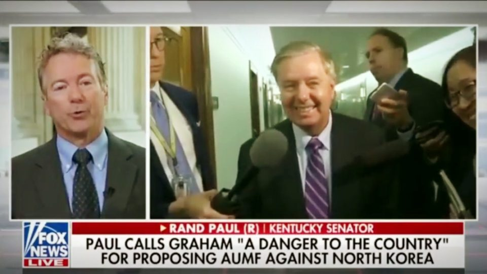 "Rand Paul on North Korea Summit & Sen. Graham Being ""A Danger To The Country"""