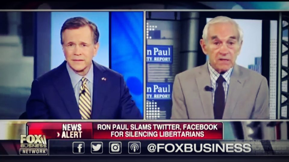 Ron Paul | Twitter Suspends Libertarian Accounts
