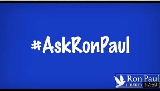 China Tariff, Military Spending, Worst President – #AskRonPaul