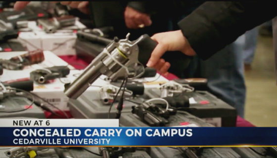 Cedarville University Considers Allowing Concealed Handguns on Campus
