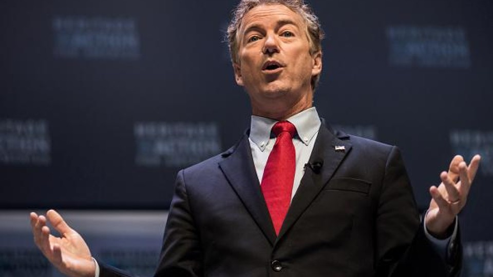 Sen. Rand Paul says both parties are to blame for excessive spending by federal government